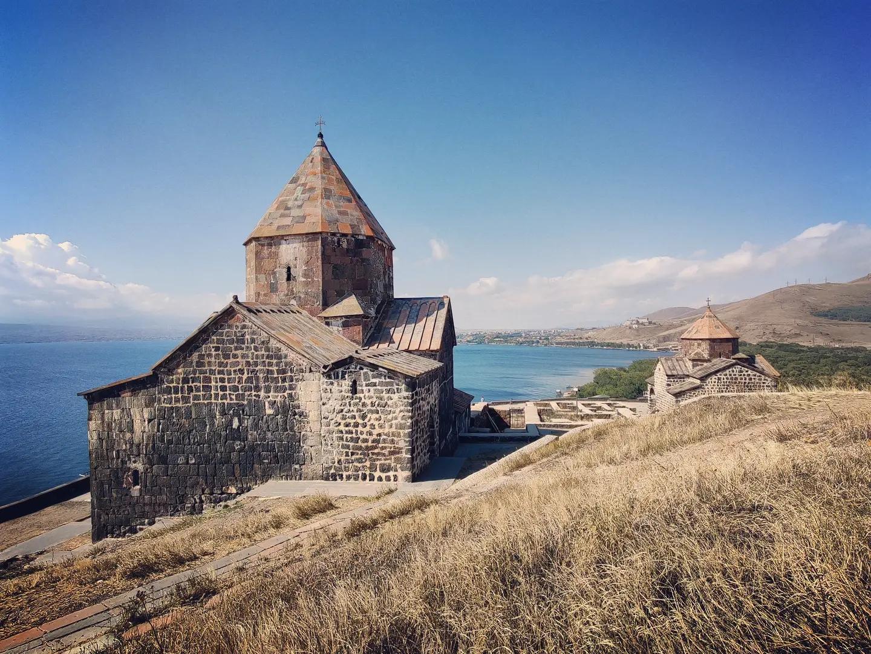 Sevanavank Church, Lake Sevan, Armenia
